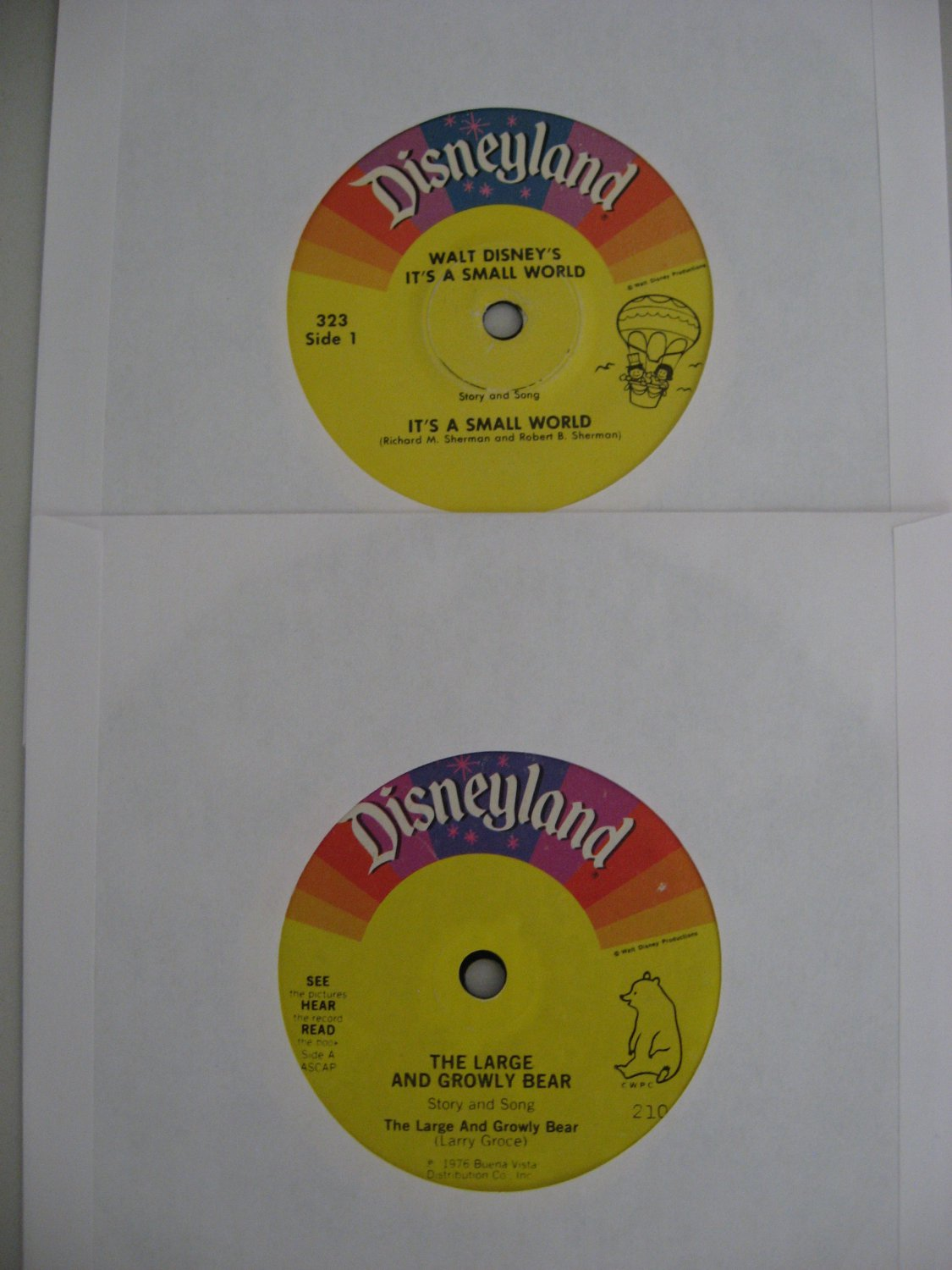 Disneyland Records - It's A Small World (Vinyl Record)
