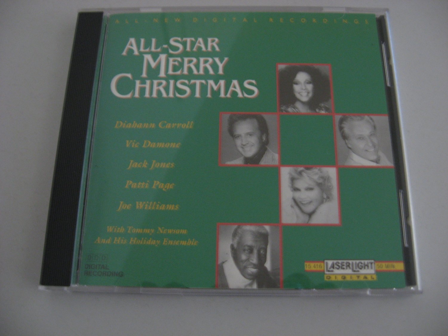 Vic Damone - Patti Page -  All-Star Christmas - Circa 1991 - Compact Disc