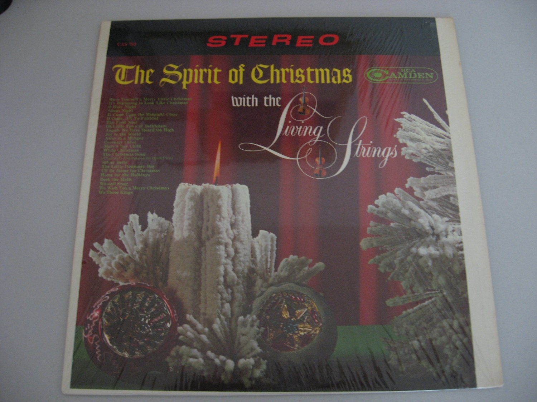 The Living Strings - The Spirit Of Christmas - Circa 1963