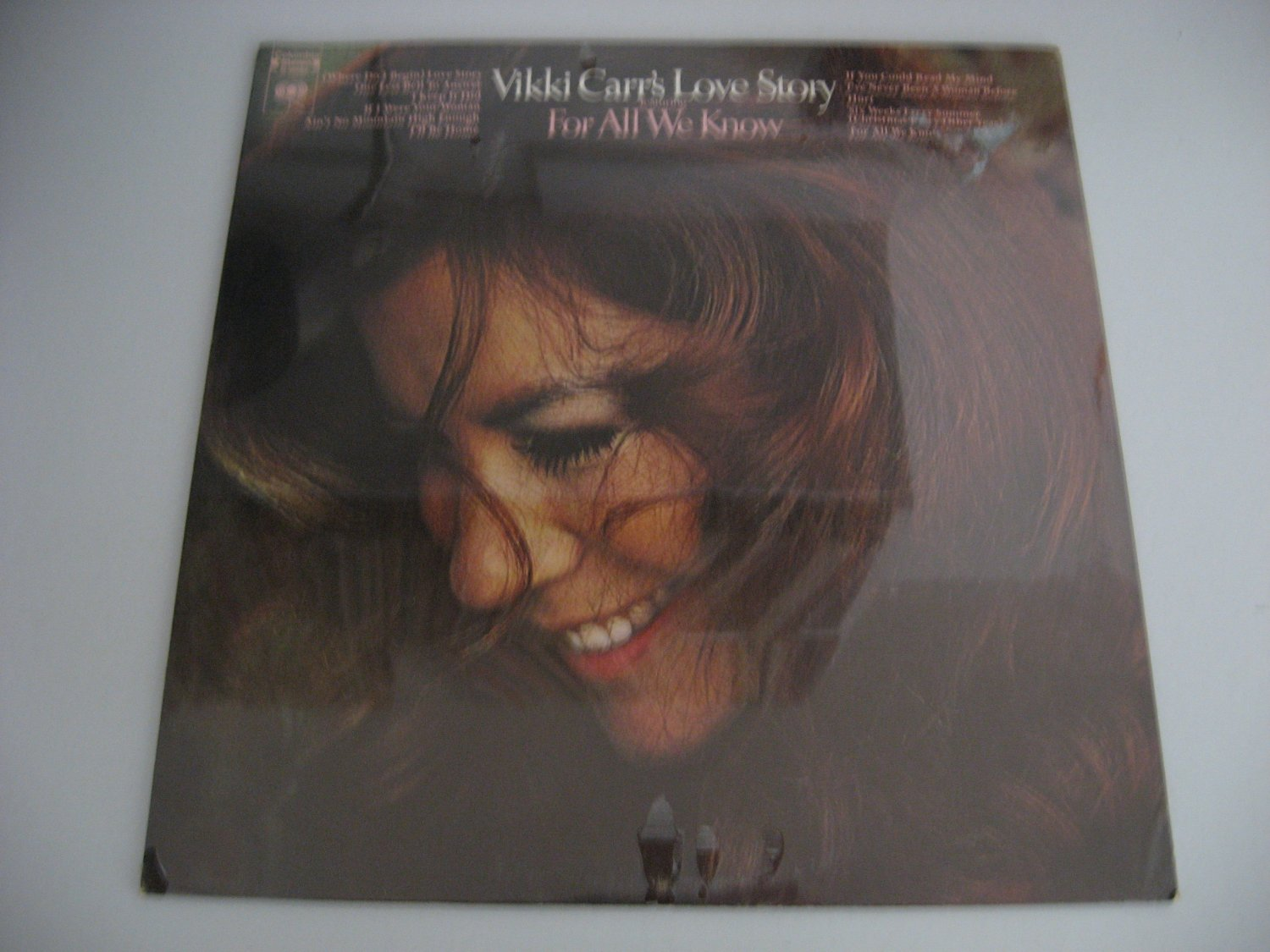 NEW! Factory Sealed - Vikki Carr - Love Story - Circa 1977