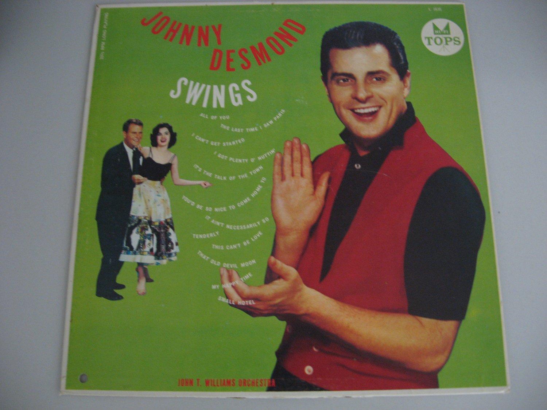 Johnny Desmond -  Johnny Desmond Swings - Circa 1958