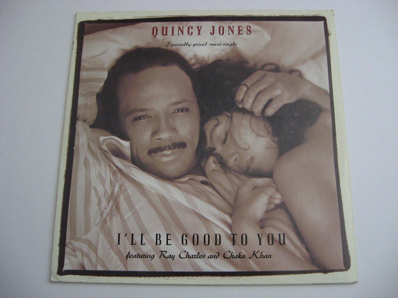 Ray Charles & Chaka Khan - I'll Be Good To You  (Vinyl Record)