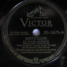 Charlie Spivak  -  Santa Lucia    (Vinyl Record)