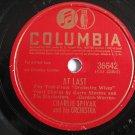 Charlie Spivak  - At Last  (Vinyl Record)