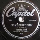 Freddie Slack - The Gee Chi Love Song   (Vinyl Record)