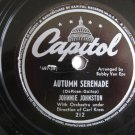 Johnnie Johnston  -  Autumn Serenade  (Vinyl Record)