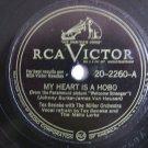 Tex Beneke  -  My Heart Is A Hobo - As Long As I'm Dreaming - 78rpm - Circa 1947