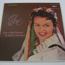 Rare Vinyl! - Eve Boswell - Songs In Eight Languages - Circa 1956