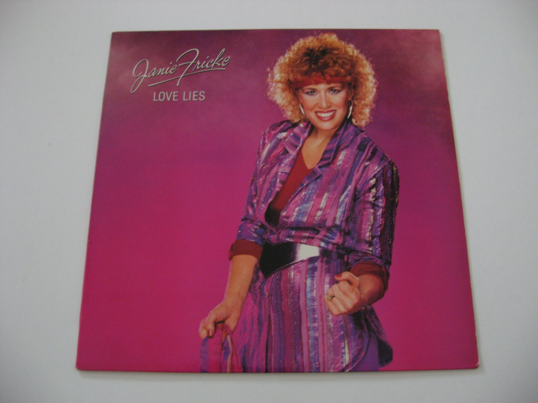 Janie Fricke  -  Love Lies  (Vinyl record)