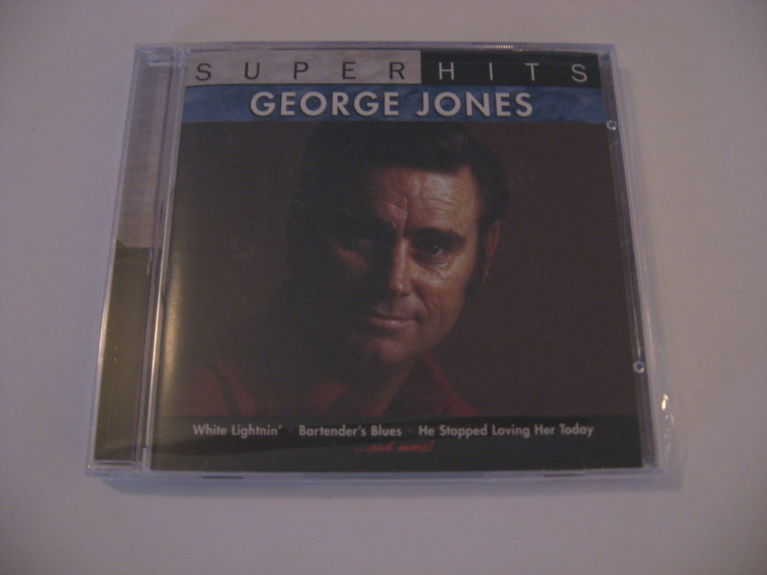George Jones  -  Super Hits - Factory Sealed - Compact Disc