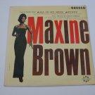 Maxine Brown / Margie Anderson  (Vinyl Records)