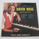 David Rose  -  In A Mellow Mood  (Vinyl Record)