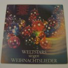 German Import - World Stars Singing Christmas Carols - Various Artist - 1982 (Vinyl LP)