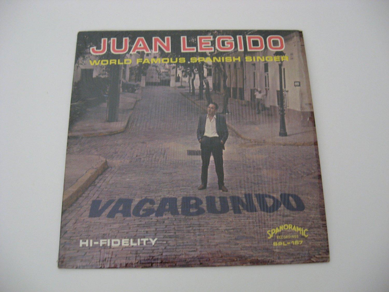Juan Legido  -  Vagabundo - 1965  (Vinyl LP)