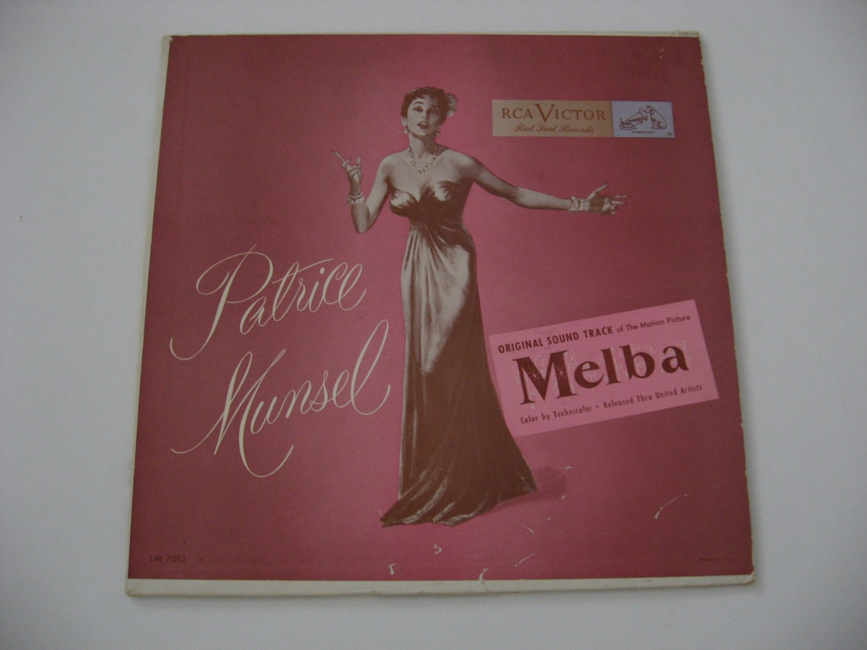 "Rare! Patrice Munsel - Soundtrack ""Melba"" -  1950 (Record)"