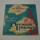 Verdi - La Traviata - 1950  (Vinyl Records)