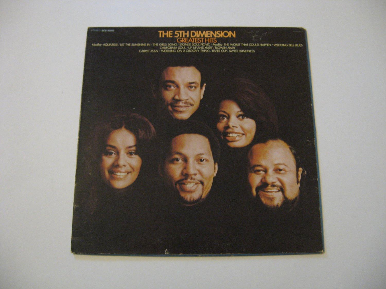 The 5th Dimension  -  Greatest Hits - Circa 1970
