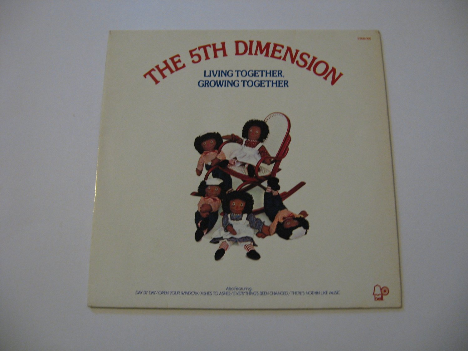 The 5th Dimension  - German Import - Living Together Growing Together - 1973  (Vinyl Record)