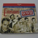 Ella Fitzgferald-Fats Waller-Benny Goodman & Others  - The Entertainers Of WW11 - 4 Compact Disc's