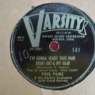 Paul Paine - I'm Gonna Wash That Man Right Out-a My Hair - 1946 (Vinyl Records)