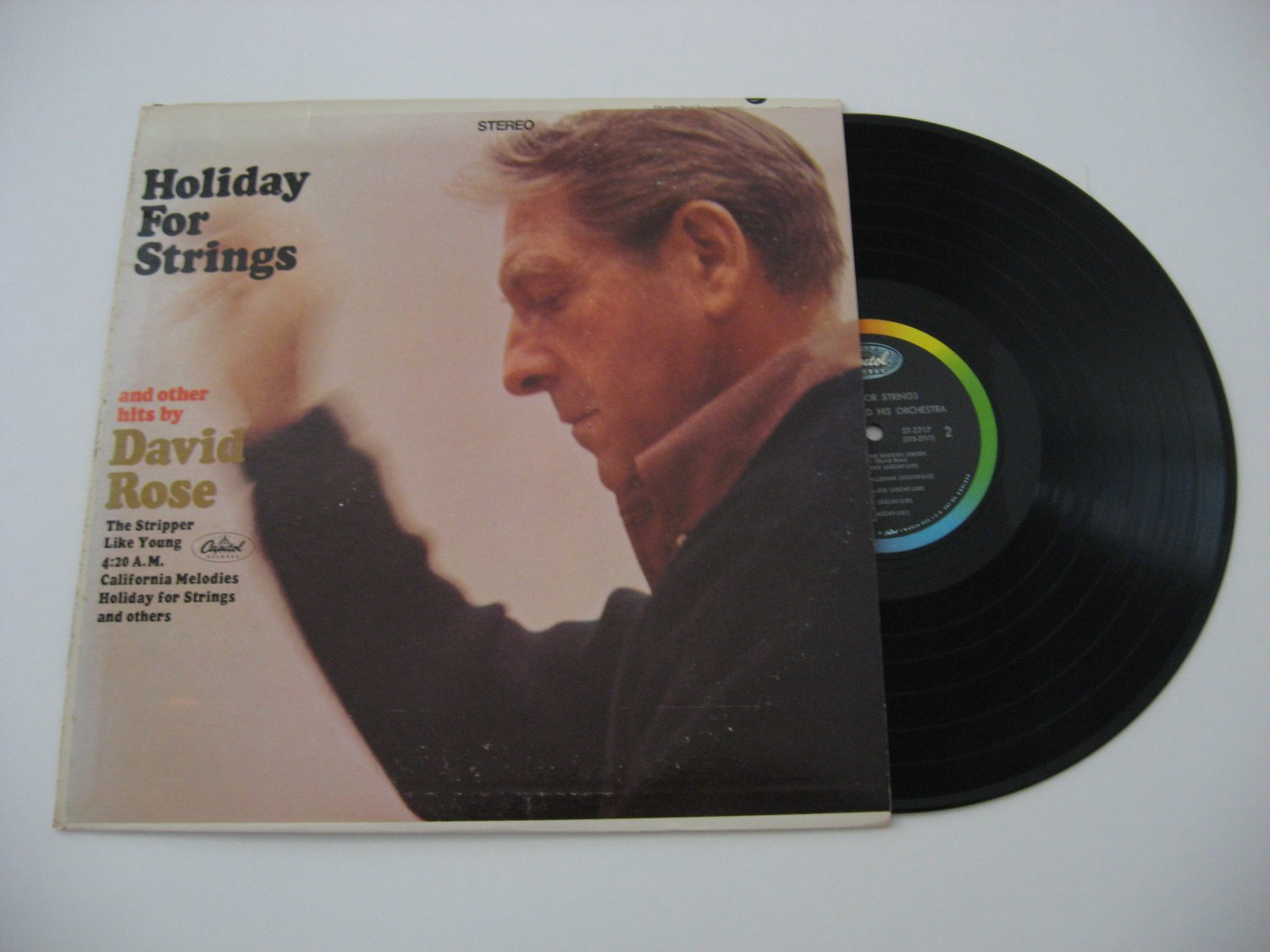 David Rose - Holiday For Strings - 1967 (Vinyl Records)