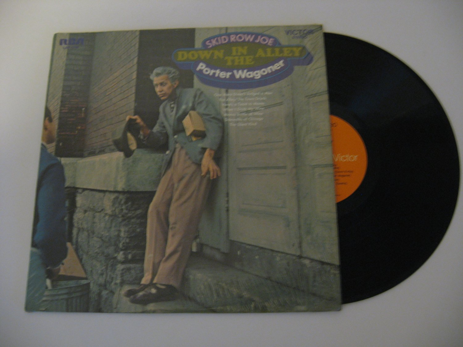 Porter Wagoner - Down In The Alley - 1970 (Vinyl Records)
