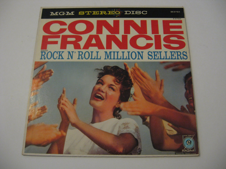 Connie Francis  -  SIngs Rock N' Roll Million Sellers  -  Circa 1959