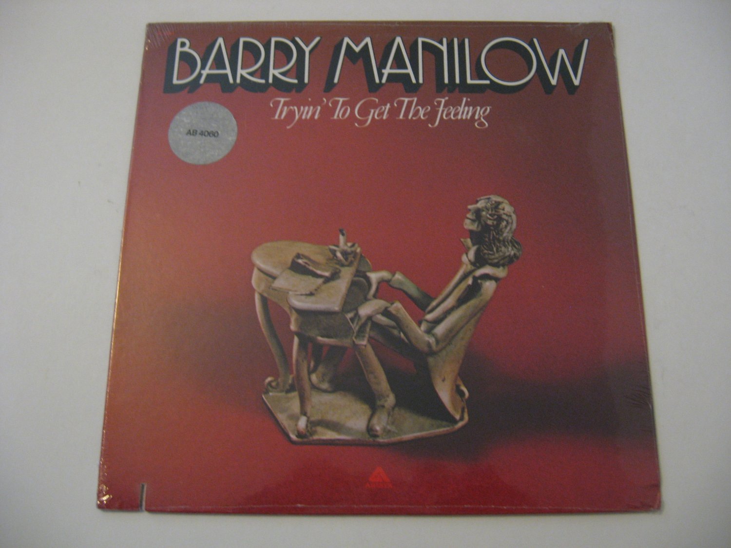 NEW! - Factory Sealed! - Barry Manilow - Tryin To Get The Feeling - Circa 1975
