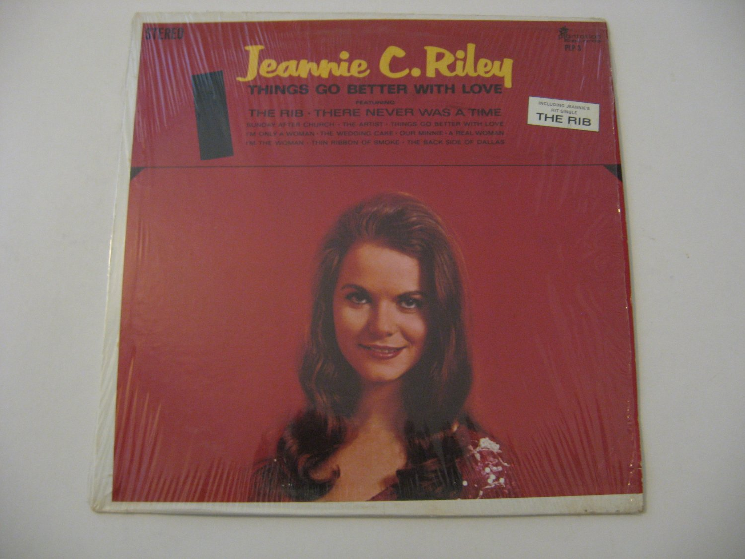 Jeannie C. Riley - Things Go Better With Love -  Circa 1969