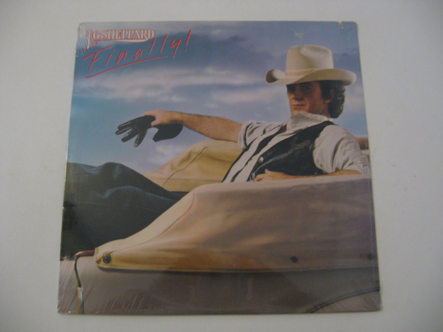 Factory Sealed! - T.G. Sheppard - Finally! - 1982 (Record)