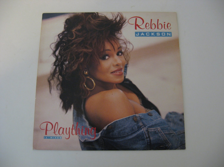 Rebbie Jackson - Plaything - 1987   (Record)