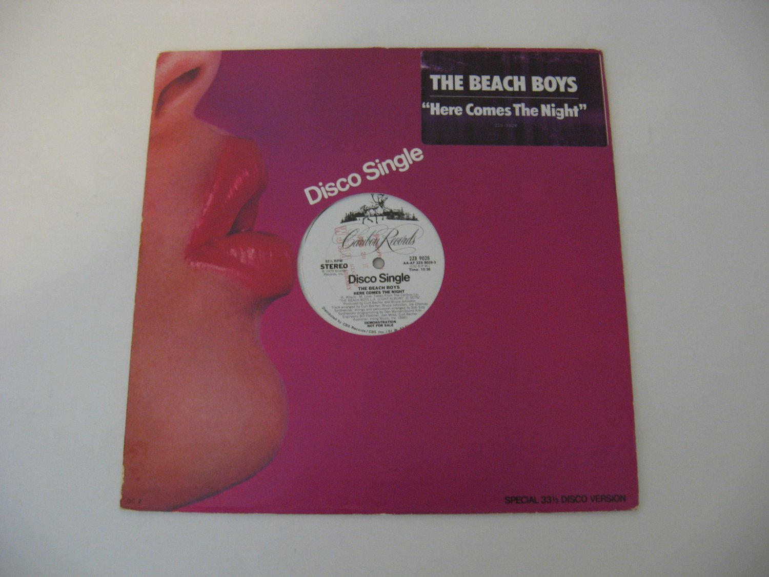 The Beach Boys - Here Comes The Night - 1979   (Record)