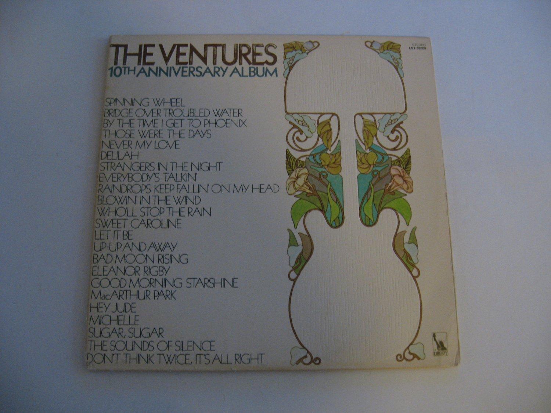 The Ventures - 10th Anniversary Album - Circa 1970