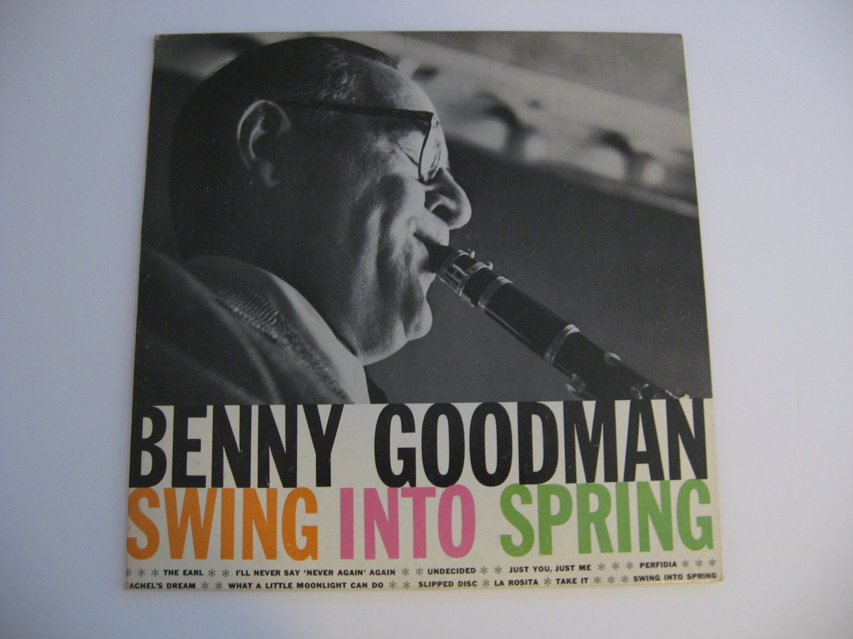 Benny Goodman - Swing Into Spring - 1958  (Record)