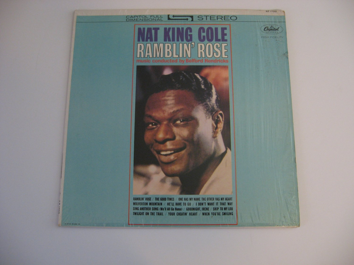 Nat King Cole - Ramblin' Rose - Stereo Version - 1962  (records)