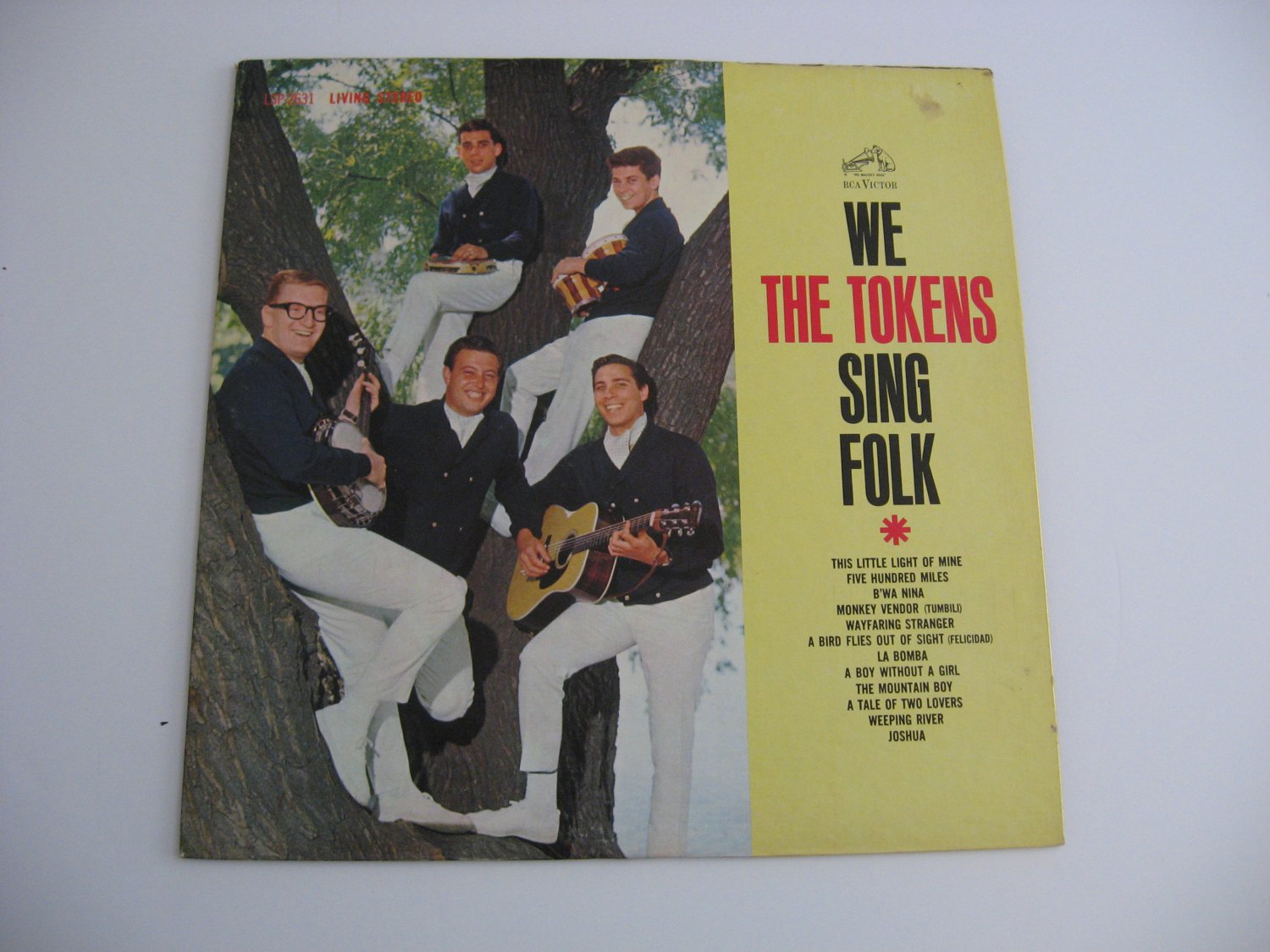 The Tokens - We Sing Folk - 1962  (records)