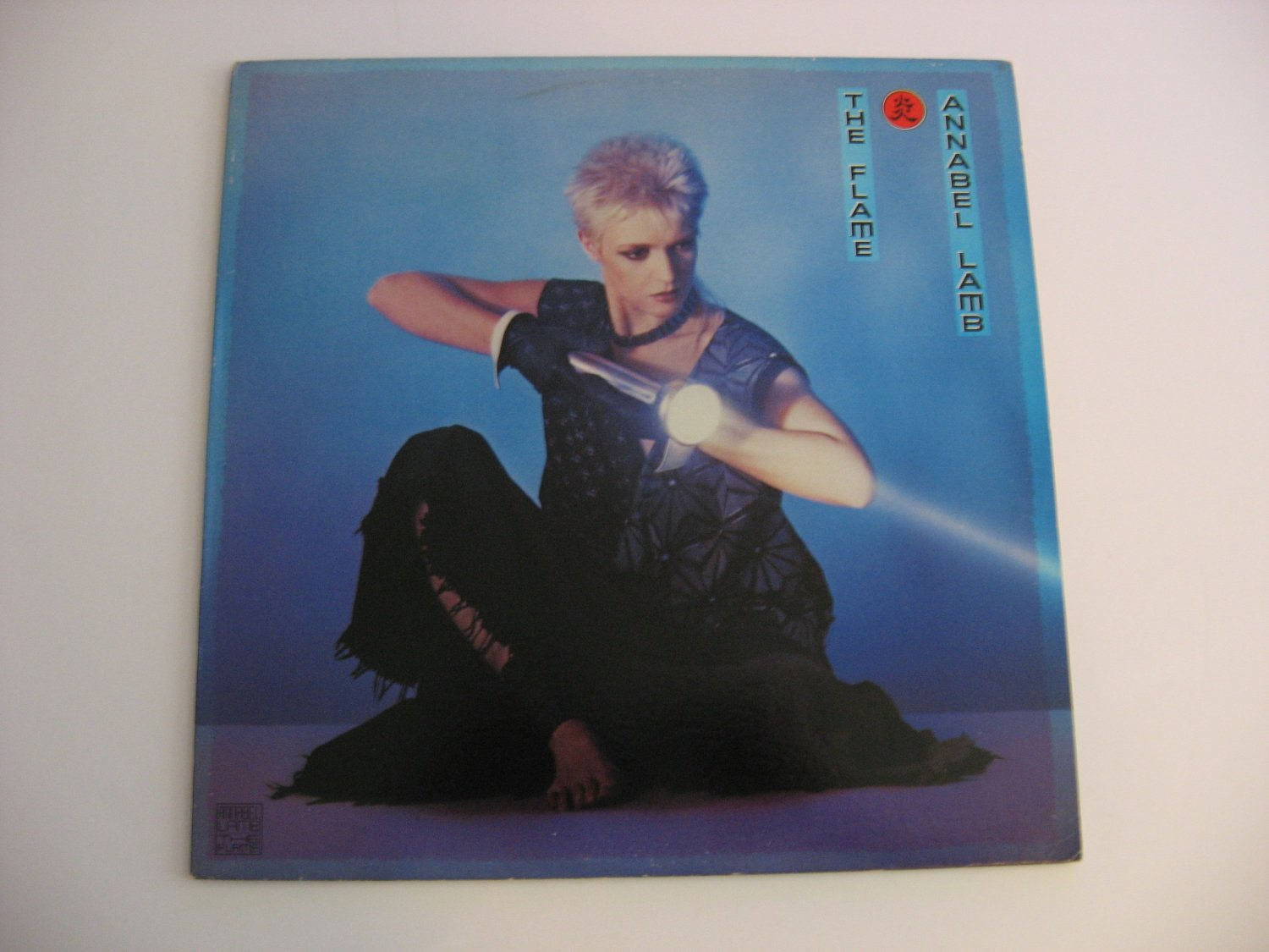 Annabel Lamb - The Flame - Promo Copy! - 1984  (record)