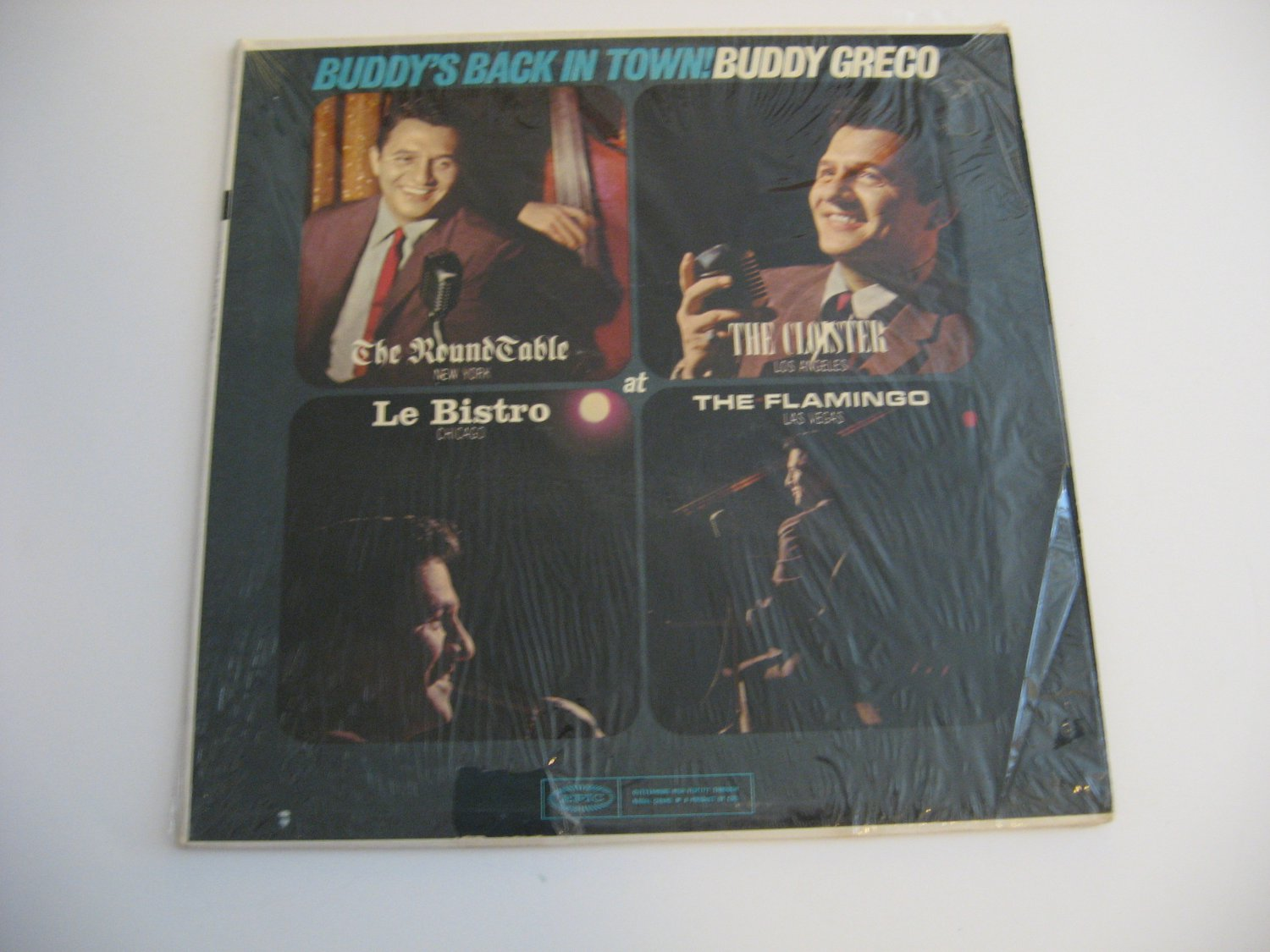Buddy Greco - Buddy's Back In Town - 1963