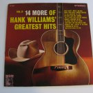 Hank Williams - 14 More Greatest Hits Volume 2 - Circa 1962