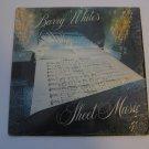 Barry White - Sheet Music - Circa 1980