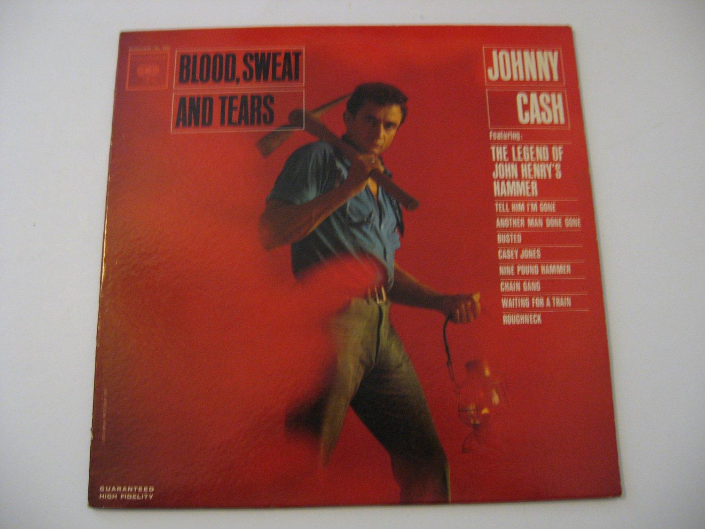 Johnny Cash - Blood, Sweat And Tears - Circa 1962