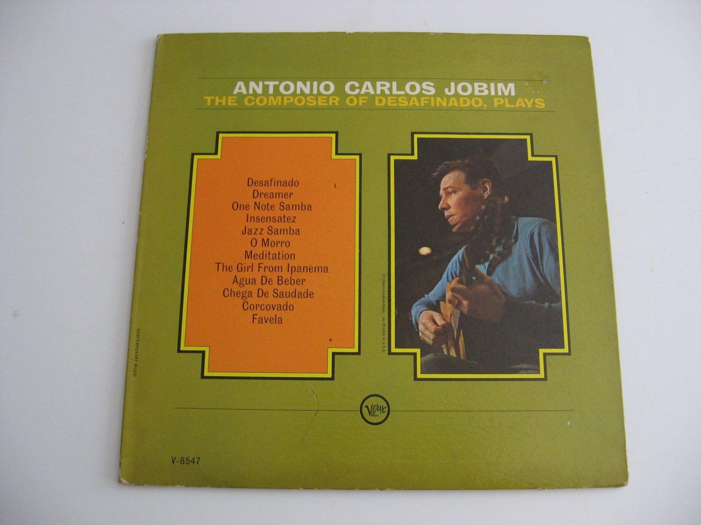 Antonio Carlos Jobim - The Composer Of Desafinado, Plays - Mono Version - Circa 1963