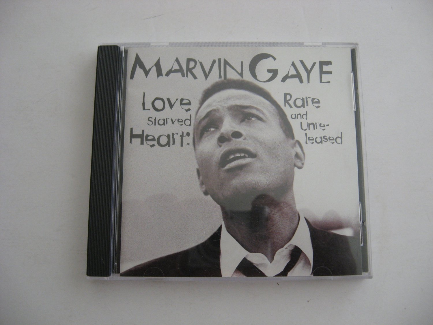 Marvin Gaye -  Love Starved Heart (Rare And Unreleased) - CIrca 1994   (CD)
