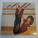 Jane Fonda -The Jacksons - Jimmy Buffett -  Workout Record - Double Album Set! - Circa 1981