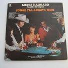Merle Haggard - Songs I'll Always Sing - Double Album Set! - Circa 1977