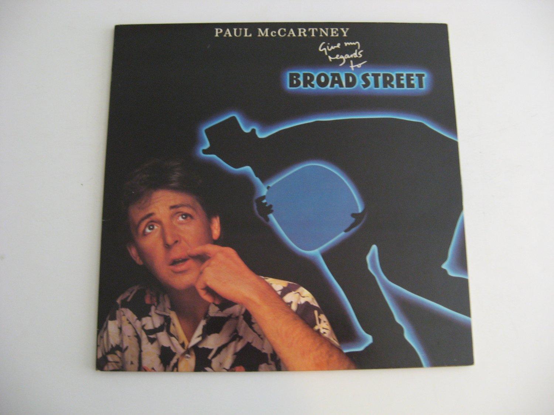 Paul McCartney - Give My Regards To Broad Street - Circa 1984