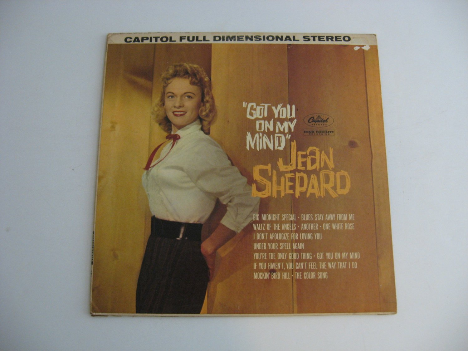 Rare Vinyl!  Jean Shepard  - Got You On My Mind - Circa 1961