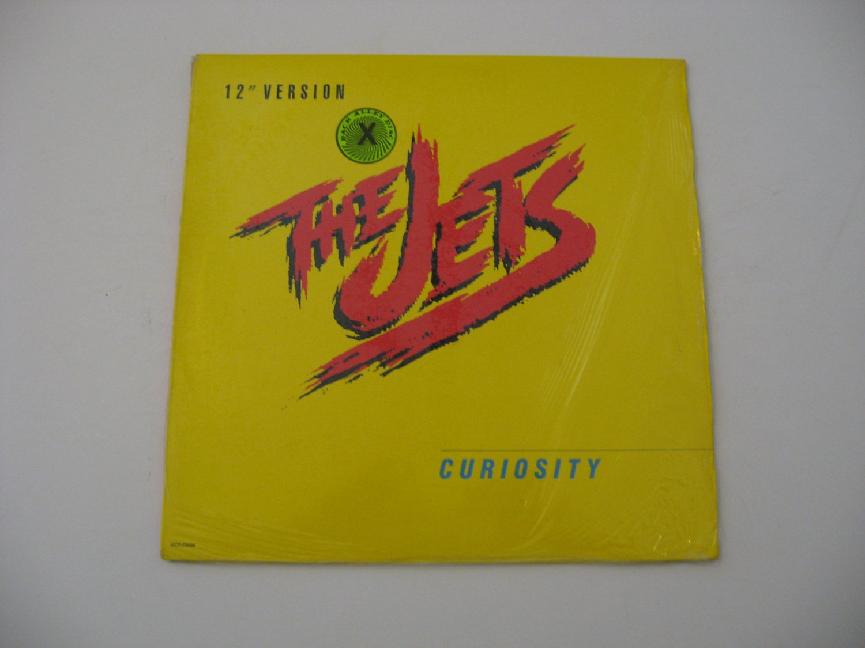 The Jets - Curiosity - Maxi Single - Circa 1985