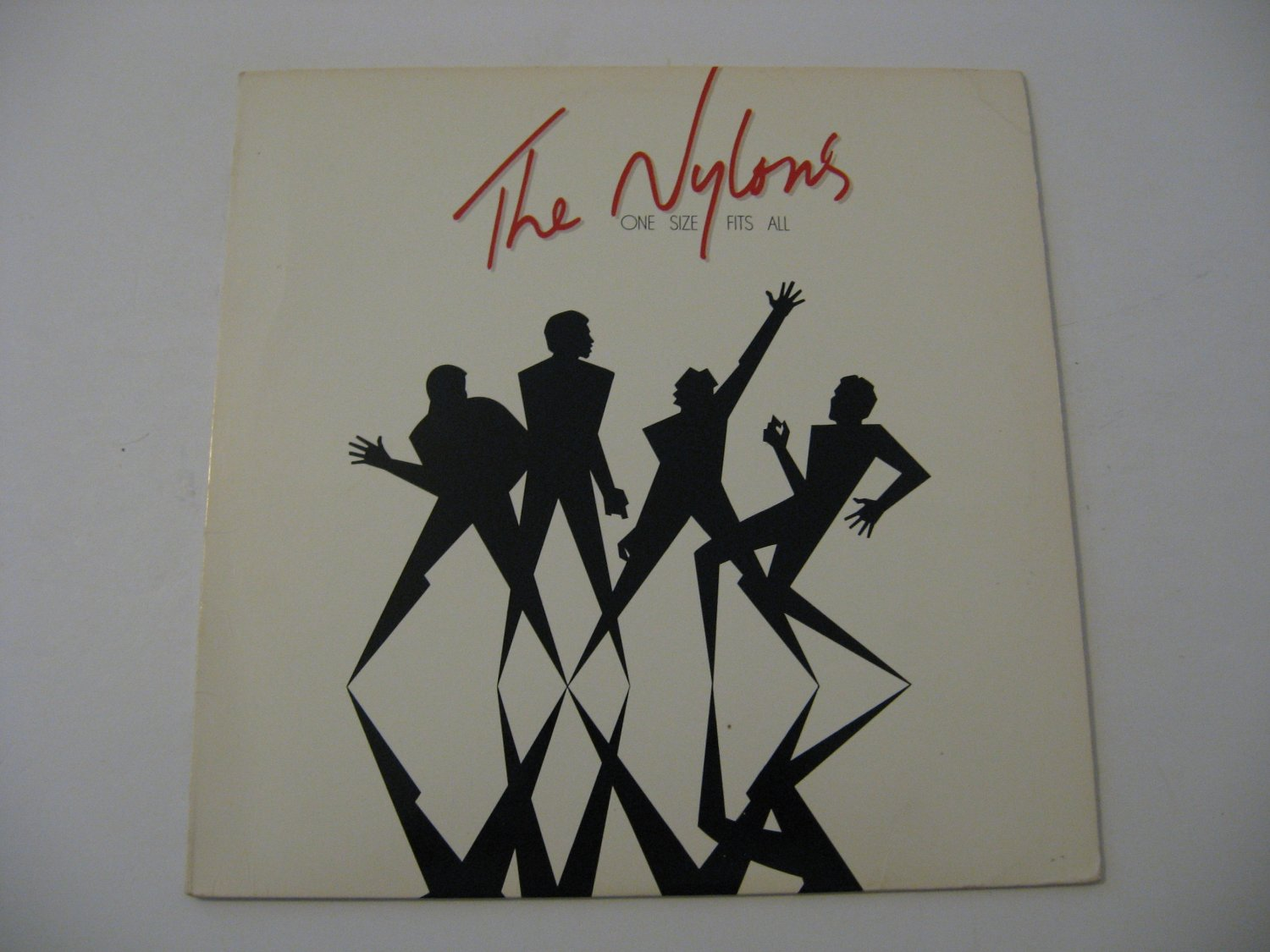 Autographed Copy - The Nylons - One Size Fits All - Circa 1982