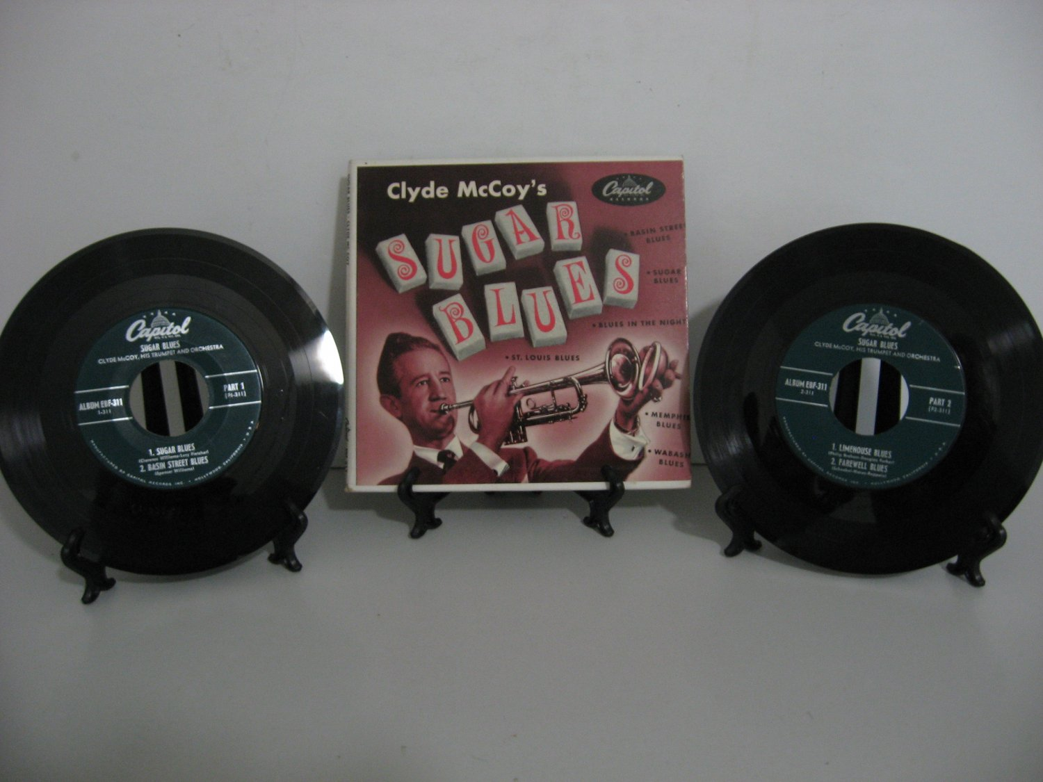 Rare Vinyl! Clyde McCoy - Sugar Blues - Double Record Set! - Circa 1952
